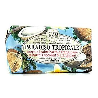 Paradiso Tropicale Triple Milled Natural Soap - St. Barth's Coconut & Frangipani - 250g/8.8oz