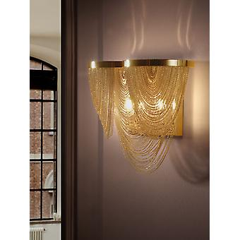 Schuller Minerva Wall Lamp 2L. Gold (Home , Lighting , Wall sconces)