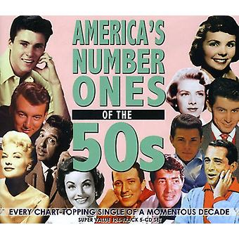 America's Number One's af 50 's - America's Number One's 50 's [CD] USA importen