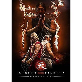 Street Fighter: Assassin's Fist-Live Action [DVD] USA importerer
