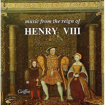 Forbury & Holbein ægtefæller - musik fra den regeringstid af Henry VIII [CD] USA import