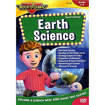 Rock'N Lær - Earth Science [DVD] USA import