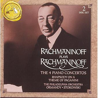 S. Rachmaninoff - Rachmaninoff Plays Rachmaninoff [CD] USA import