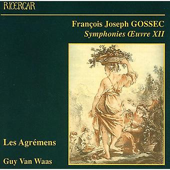 F. Gossec - Gossec: Symfonier, Oeuvre XII [CD] USA import