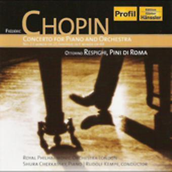 F. Chopin - Chopin: Concerto for Piano and Orchestra; Respighi: Pini Di Roma [CD] USA import