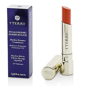 By Terry Hyaluronic Sheer Rouge Hydra Balm Fill & Plump Lipstick (UV Defense) - # 17 Zest Shot 3g/0.1oz