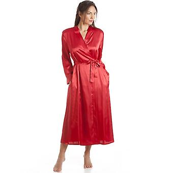 Camille Camille Womens Ladies Luxury Lace Shoulder Red Satin Wrap