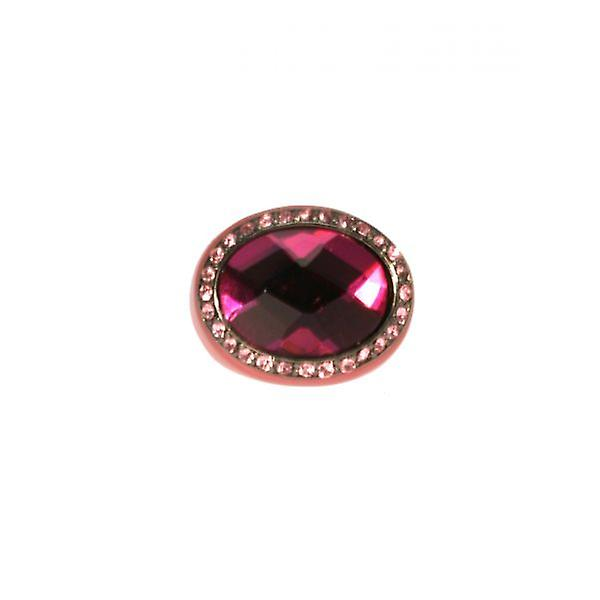 W.A.T Coloured Resin Crystal Ring