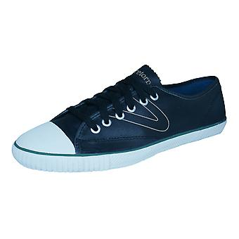 Tretorn T56 WGT Mens Leather Trainers / Shoes - Black