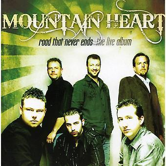 Mountain hjerte - Road, aldrig slutter: The Live Album [CD] USA import