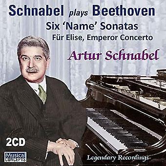 Artur Schnabel, Chicago Symphony Orchest - Beethoven: 6 Name Sonatas Fur Elise Em [CD] USA import