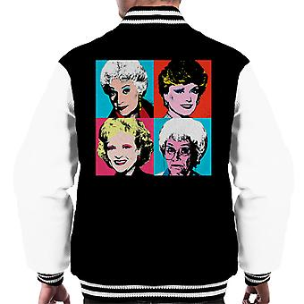 Golden Girls Warhol Inspired Men's Varsity Jacket