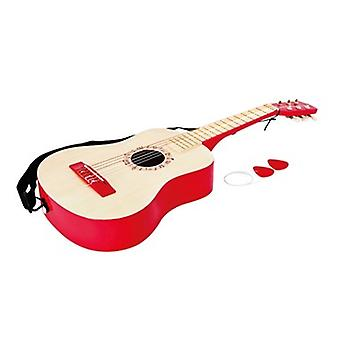 Vibrant Red Guitar HAP-E0325