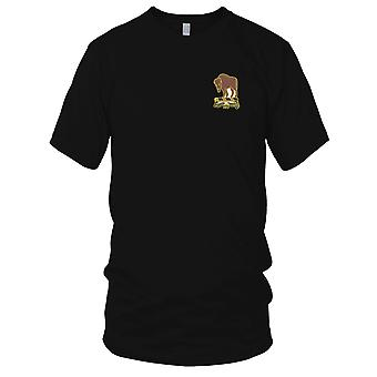 US Army - 10th Cavalry Regiment Embroidered Patch - Mens T Shirt
