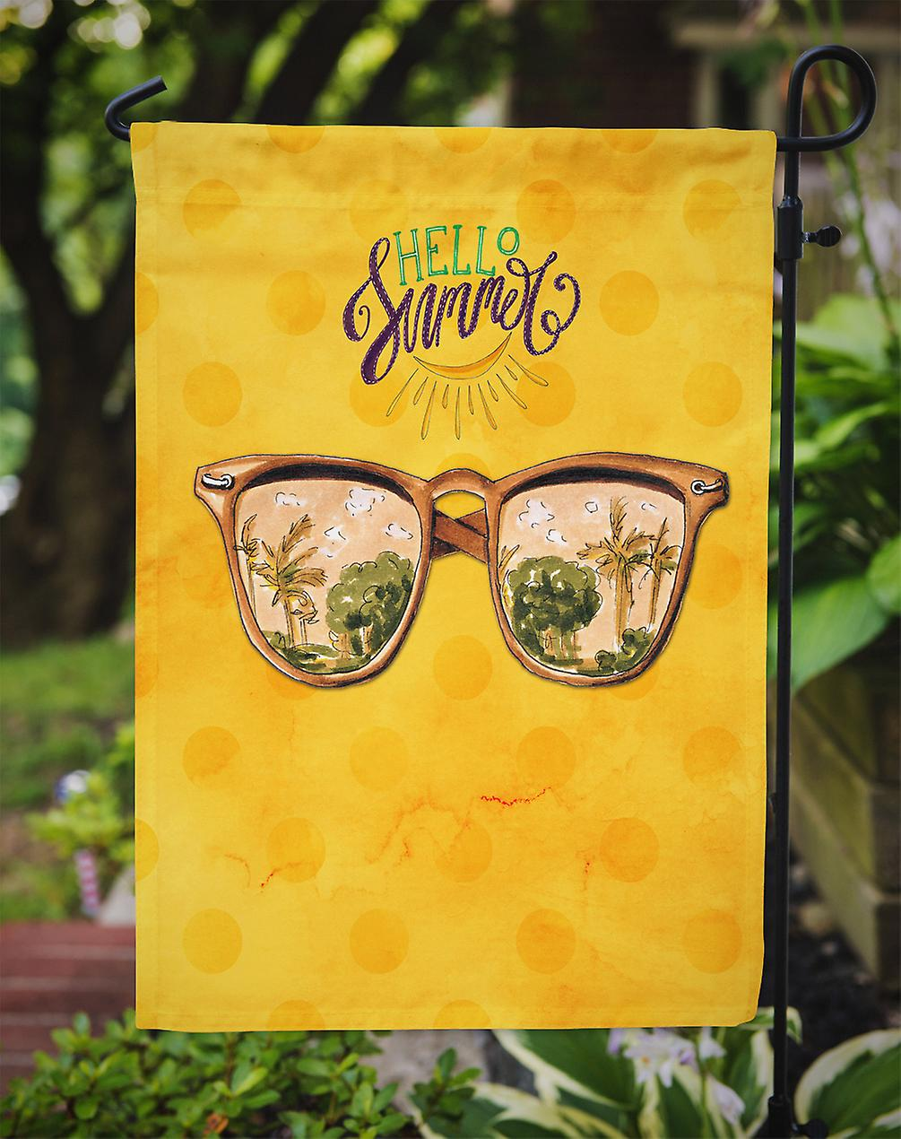 c284a6ab3a89 Carolineøerne skatte BB8207GF Beach solbriller gul Polkadot Flag Garden  størrelse