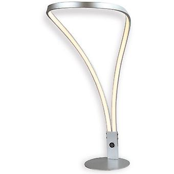 Mimax Table Lamp Led Decorative Shine T Silver 1440 Lumens 18 W