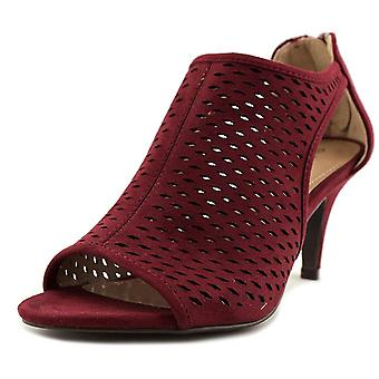 Style & Co Haddiee Women Open Toe Synthetic Burgundy Sandals