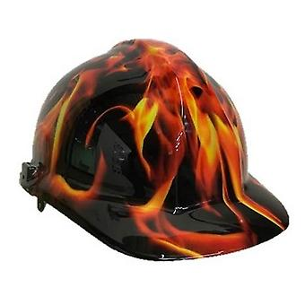 Fire Themed Hard Hat