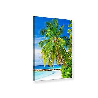 Die Palm-Leinwand