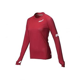 AT/C Womens Long Sleeve Running Base Layer Dark Red