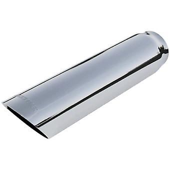 Flowmaster 15362 Exhaust Tip - 3.00 in. Cut Angle Polished SS Fits 2.50 in. Tubing - weld on