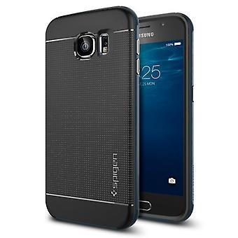 Spigen Samsung Galaxy S6 sag Neo Hybrid - Metal skifer