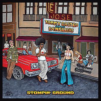 Tommy Castro & Schmerzmittel - Stompin Ground [Vinyl] USA import