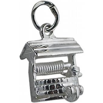 Silber 12x12mm, wollen auch Anhänger oder Charm
