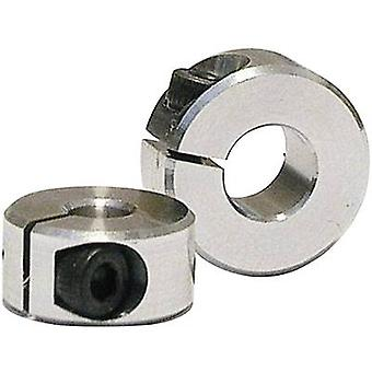 Shaft collar Compatible with (shafts): 3 mm Outside diameter: 12 mm Thickness: 6 mm M2.5 Modelcraft 1 pair