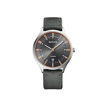 Bering mens watch titanium collection 11739-879