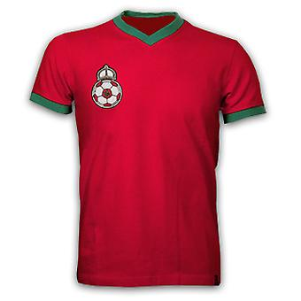 Morocco 1970 Short Sleeve Retro Shirt 100% cotton