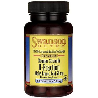 Swanson R-Fraction Alpha Lipoic Acid 50 mg  60 Cápsulas