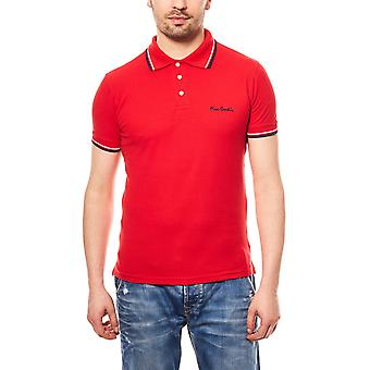 Pierre Cardin polo shirt tipped Polo mens Red
