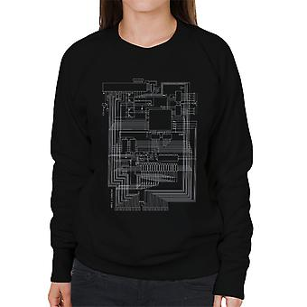 Apple I Computer Schematic Women's Sweatshirt
