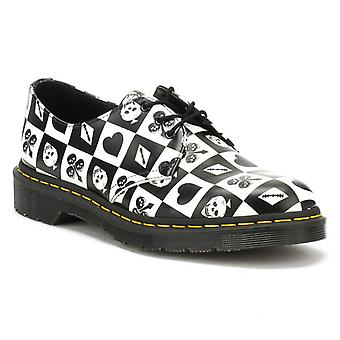 Dr. Martens Black / Playing Card Backhand 1461 Shoes