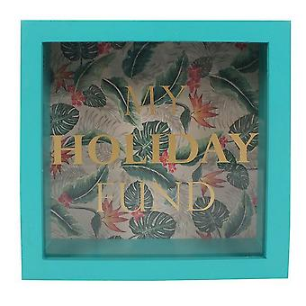 Something Different Tropical Island Holiday Money Box