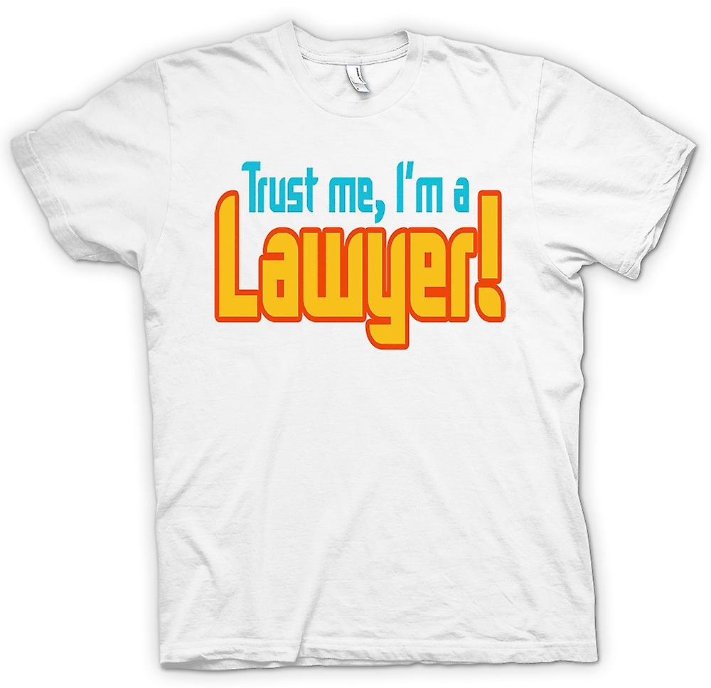 Womens T-shirt - Trust Me, I'm A Lawyer! - Quote