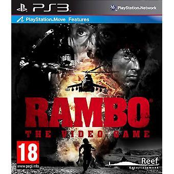 Rambo Das Videospiel (PS3) - Fabrik versiegelt