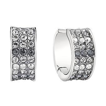 Guess ladies tunnband örhängen rostfritt stål Silver UBE71544