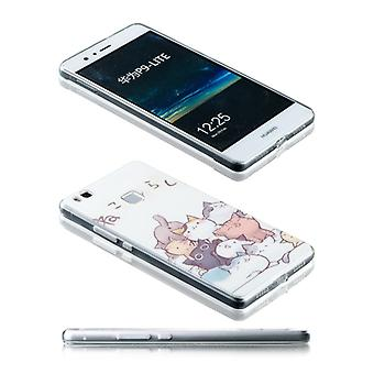 Silikoncase motif 25 0.3 mm ultra thin case for Huawei P9 Lite Pocket cover