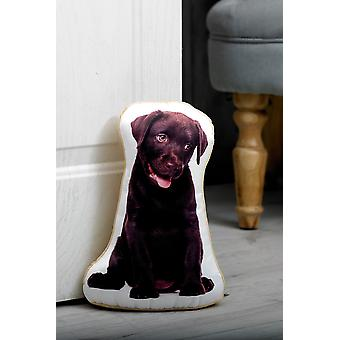 Adorable labrador shaped doorstop