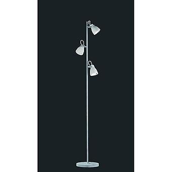 Trio Beleuchtung konkrete moderner Betonoptik Metall Stehleuchte