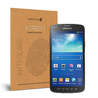 Celicious Matte Anti-Glare Screen Protector Film Compatible with Samsung Galaxy S4 Active [Pack of 2]