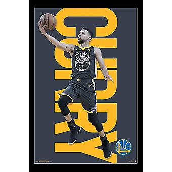 Golden State Warriors - Stephen Curry Poster Print
