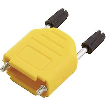 D-SUB housing Number of pins: 15 Plastic 180 ° Yellow