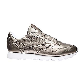 Reebok Classic Leather Sneaker Melted Metal Silber