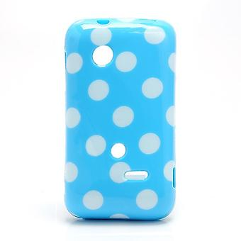 Schutzhülle für Handy Sony Xperia tipo ST21i ST21a Hellblau