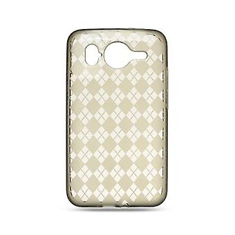Generic TPU Gel Case for HTC Desire - Smoke (223643)