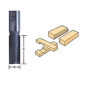 Trend 3/81 X 1/2 Tungsten Carbide Two Flute Cutter