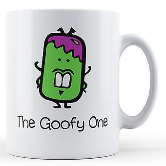 Decorative Writing The Goofy One - Printed Mug